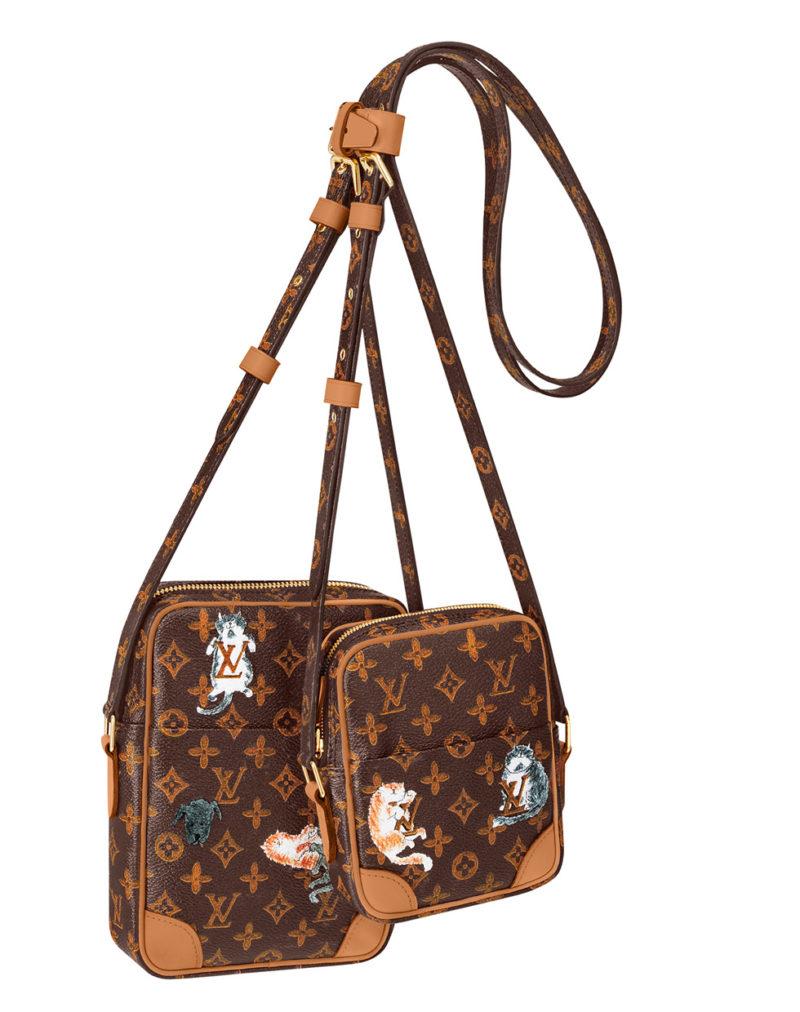 Louis Vuitton x Grace Coddington double bag