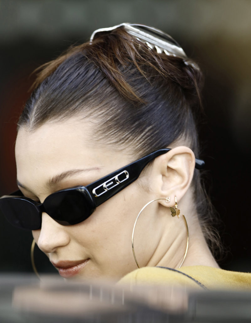 Bella Hadid öronpiercing inspiration