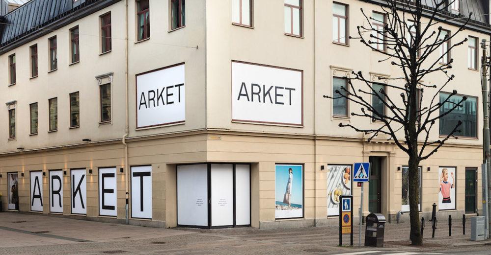 Nu öppnar Arket i Göteborg