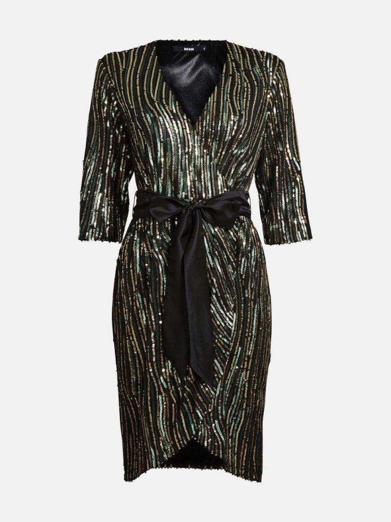 Glittrig klänning från Bik Bok
