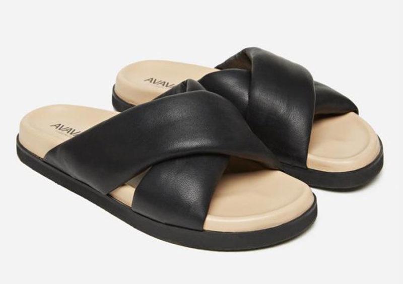 avavav svarta sandaler