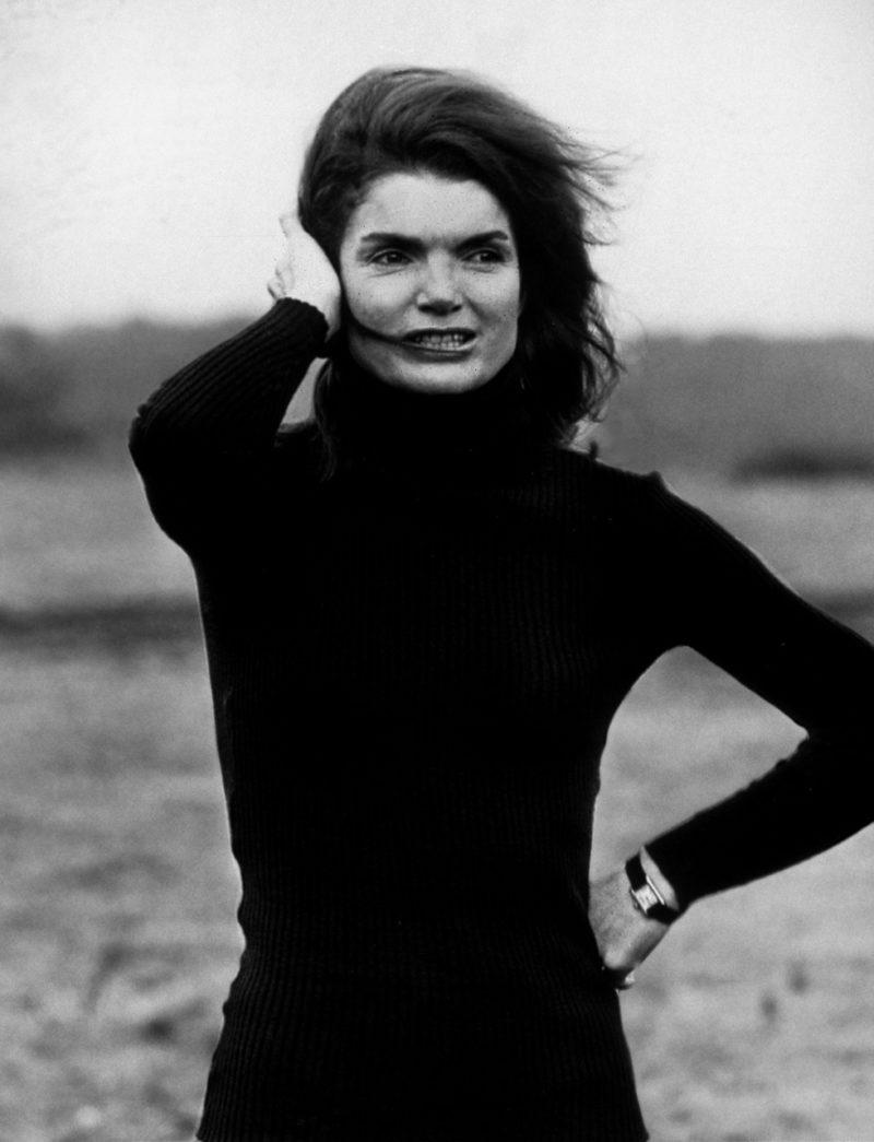 Jackie Kennedy Onassis med Cartier tank klocka