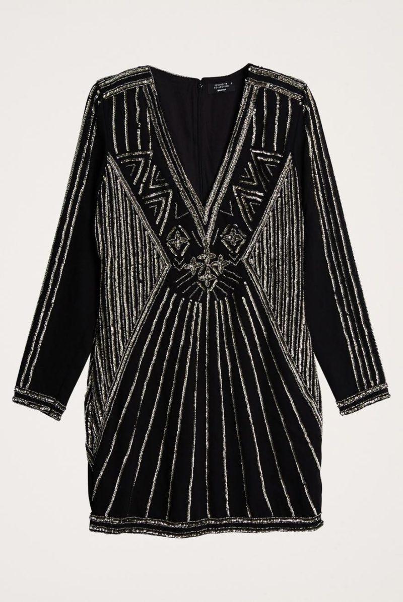 Pärlbroderad klänning från Gina tricot