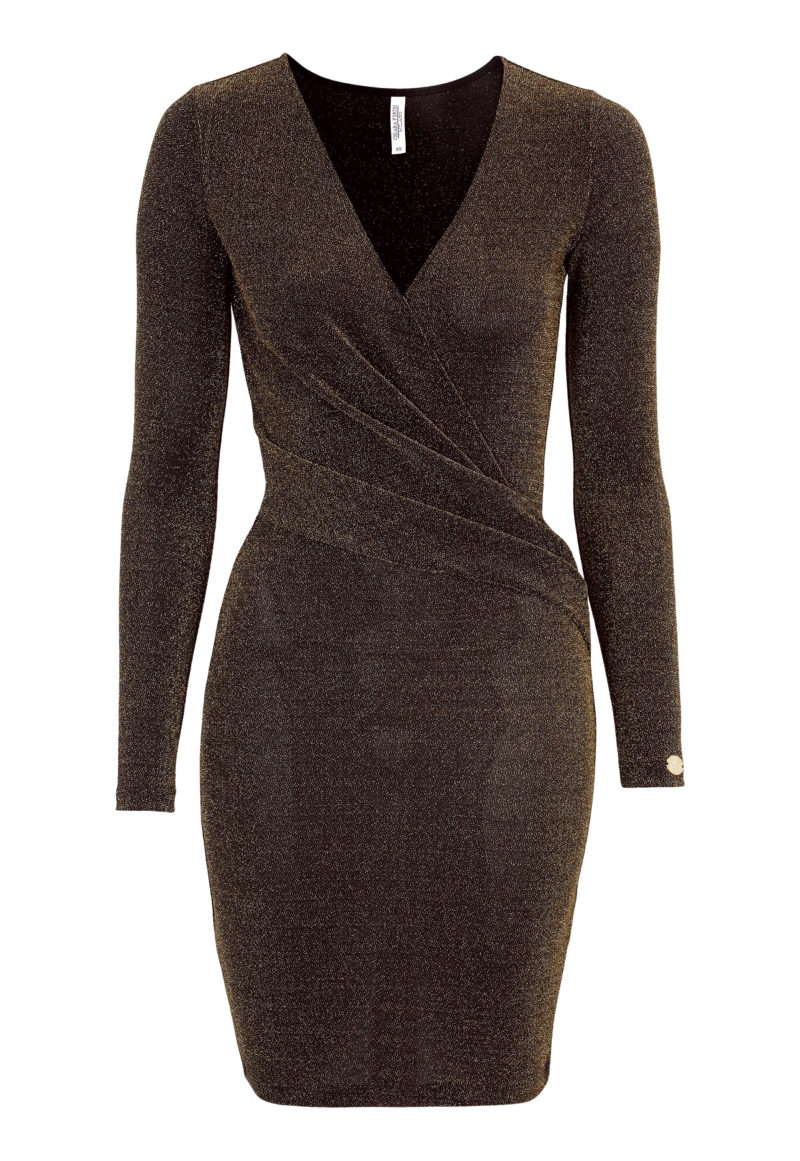 Glittrig klänning till nyårsafton