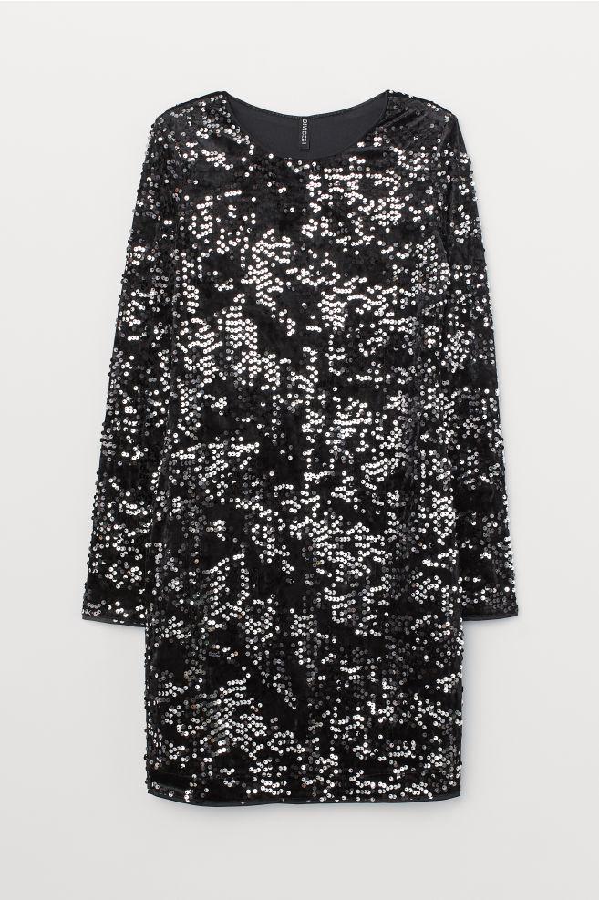 Glittrig klänning till nyår