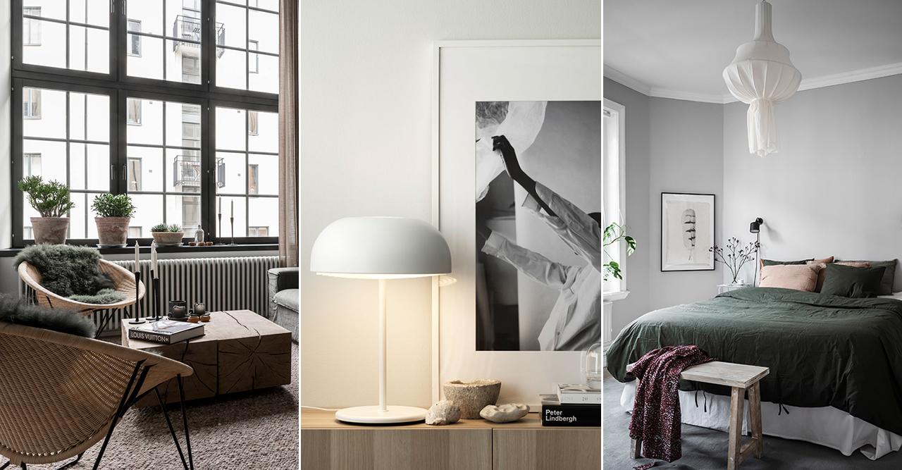 Så höjer du mysfaktorn i ett minimalistiskt hem – 8 knep