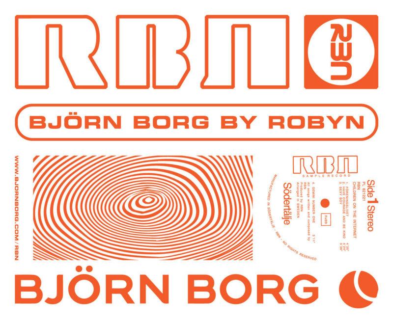 Robyn samarbetar med Björn Borg