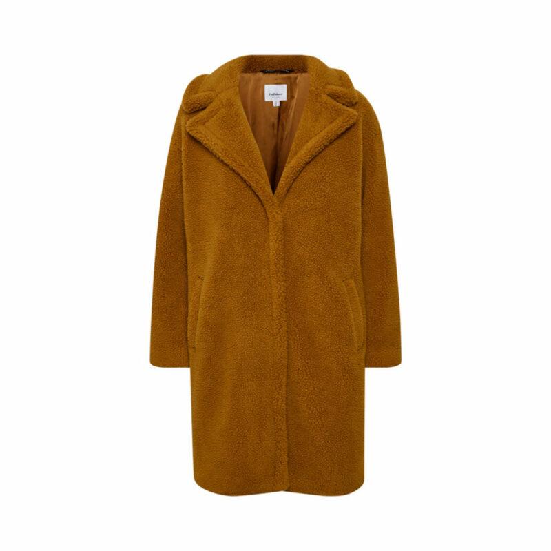 Ljusbrun teddykappa från Inwear
