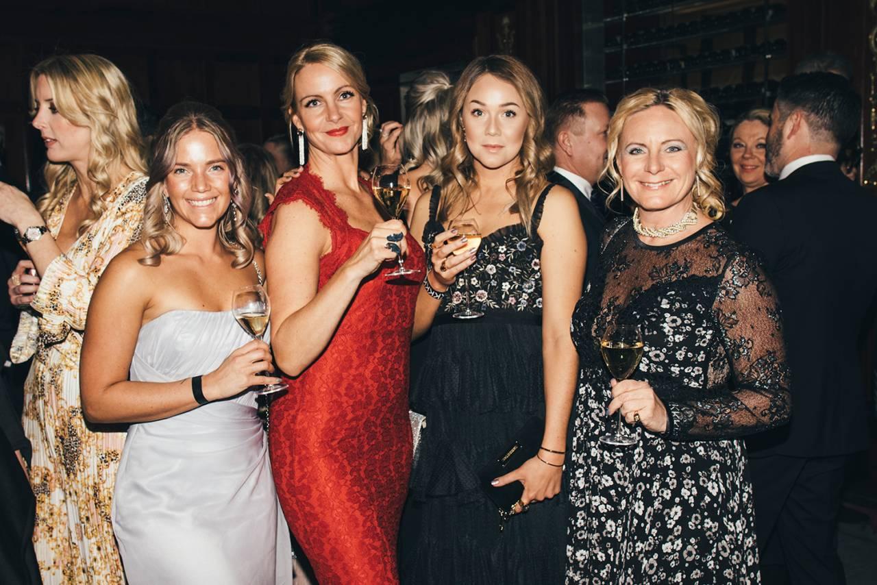 Sarah Grann, Lina Eklund, Tilda Pegler, Louise Key-Hedberg