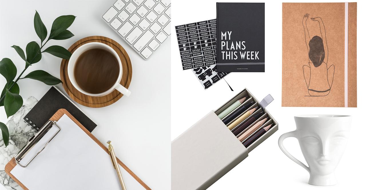 Gör om på skrivbordet – 12 stilrena prylar till kontoret
