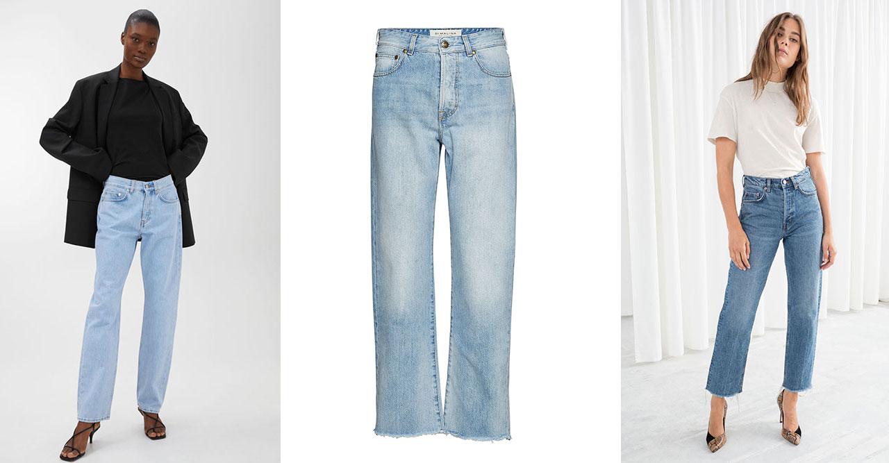 Den raka jeansmodellen gör succé och fortsätter under våren att vara den  trendigaste modellen på jeans. Men vårmodet 2019 bjuder även på en  nykomling ... bfa0632e76613