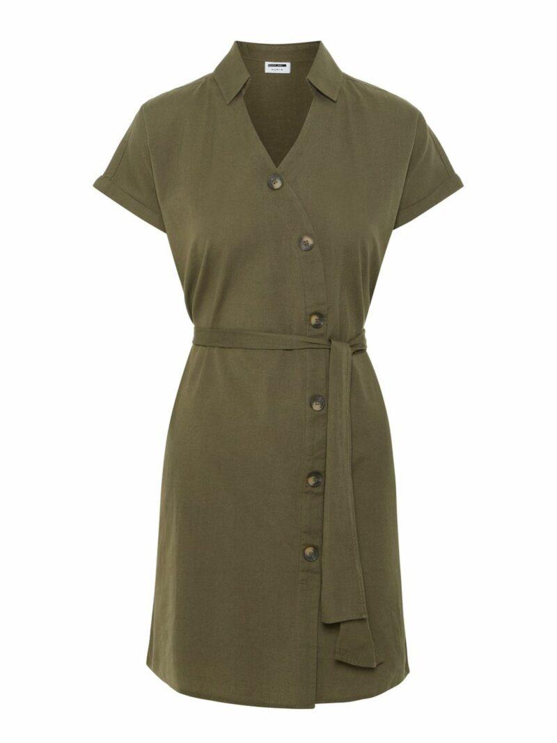 557dd95a7570 Leopardklänning i lång modell från Gina tricot. Här kan du köpa den  (reklamlänk via Apprl) . Grön klänning