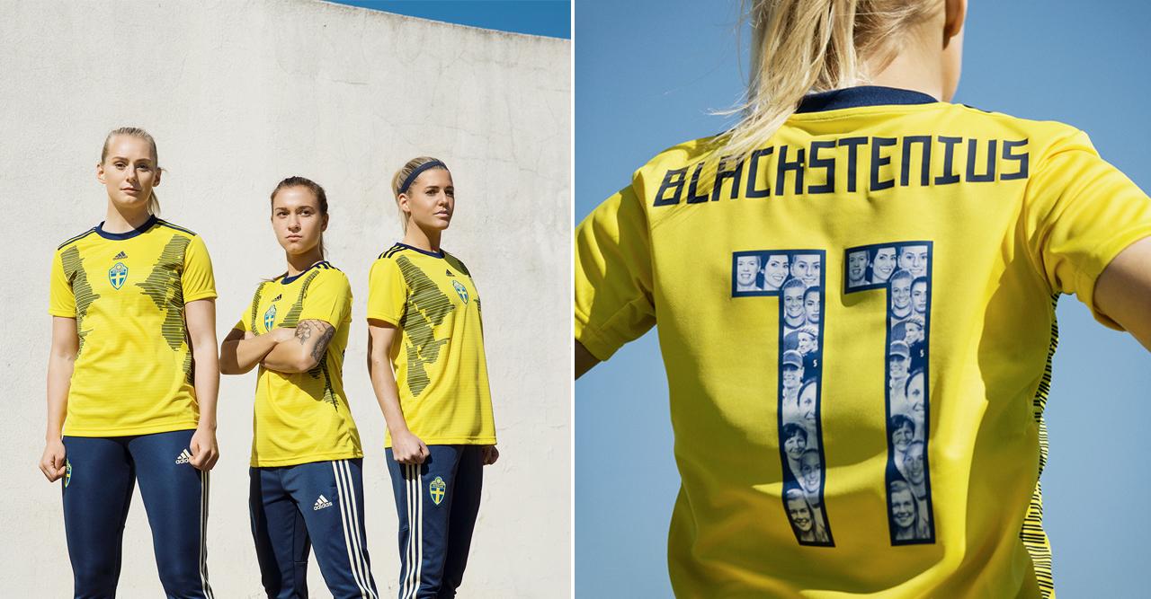 Feministiska förebilder på damlandslagets nya VM tröjor | ELLE