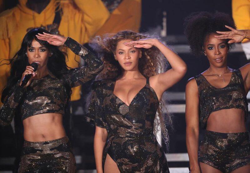 faf851431682 Beyoncé återförenades under ett par timmar med medlemmarna ur Destiny´s  Child.
