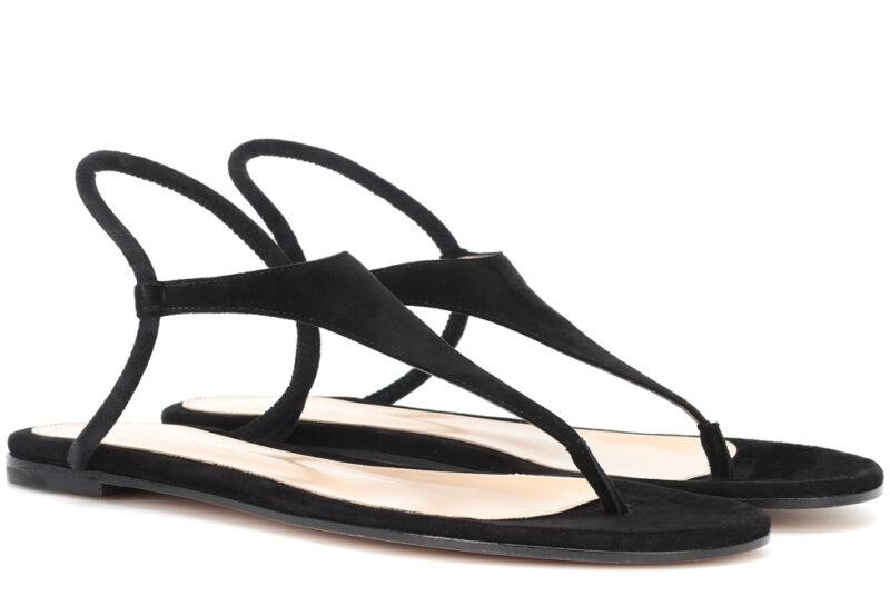 Gianvito Rossi svarta sandaler