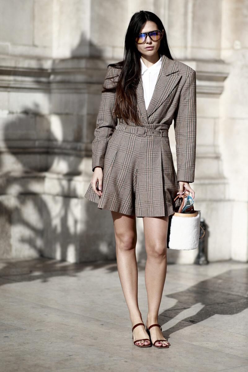 Paris modevecka streetstyle