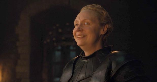 Brienne av Tarth dubbas till riddare i Game of Thrones