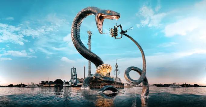 Gröna Lunds nya attraktion 2019 - Snake