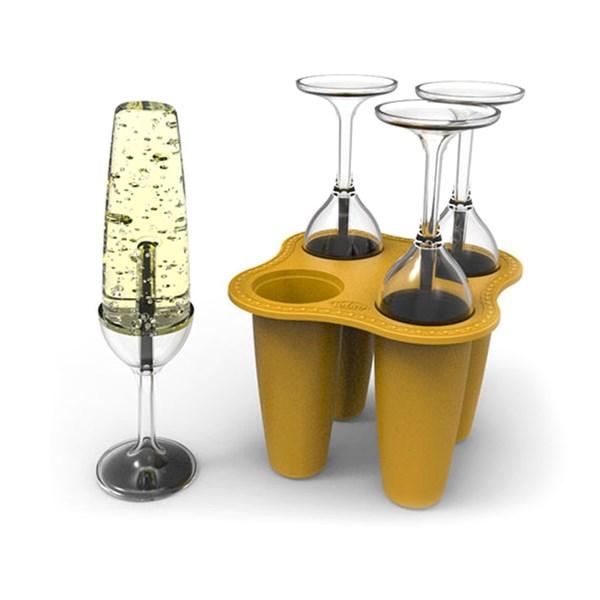Champagneglas bubbel
