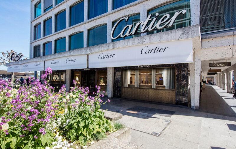 Cartierbutiken i Genève