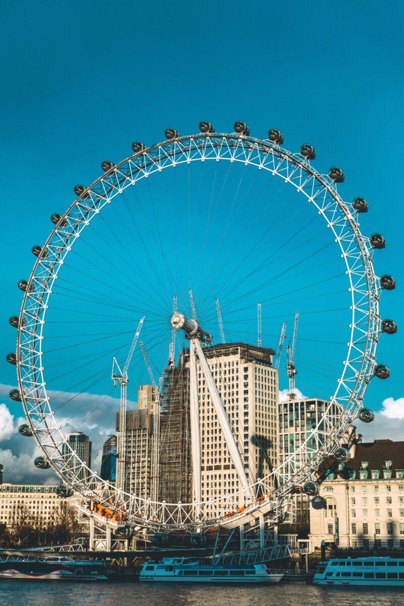 London eye är värt ett besök.