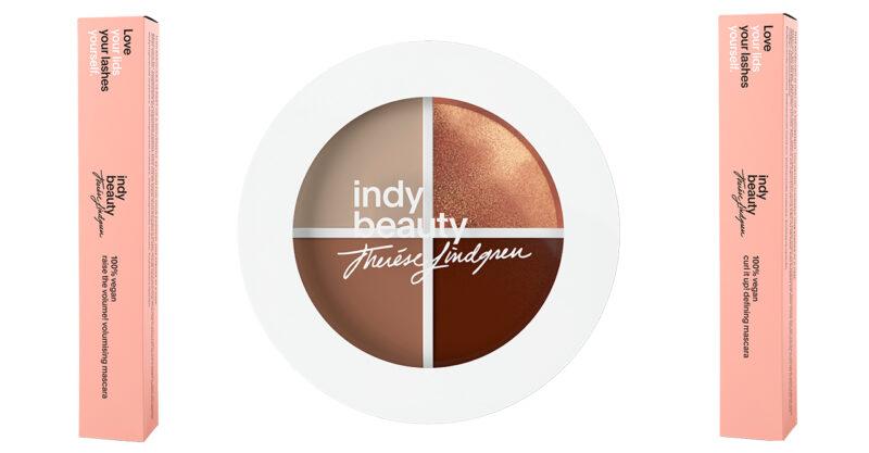 Ögonmakeup från Therese lindgrens skönhetsmärke Indy Beauty