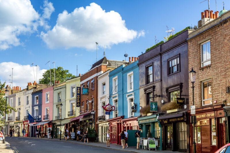 Portabello market i London