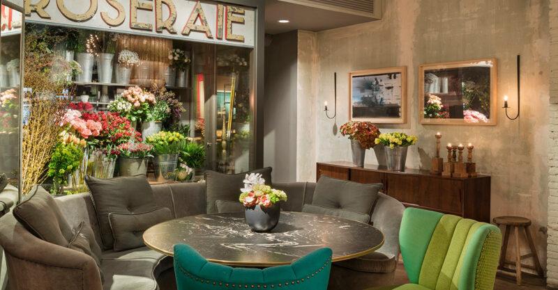 Tanka inspiration i Jaime Beriestains concept store.