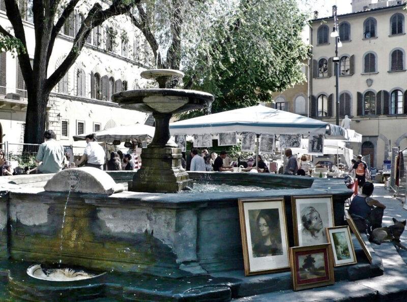 Piazza Santo Spirito.