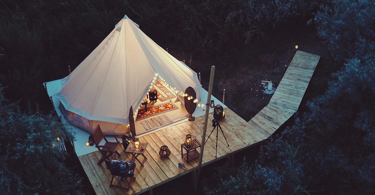 Lyxigare variant av camping – 7 glampingplatser i Sverige