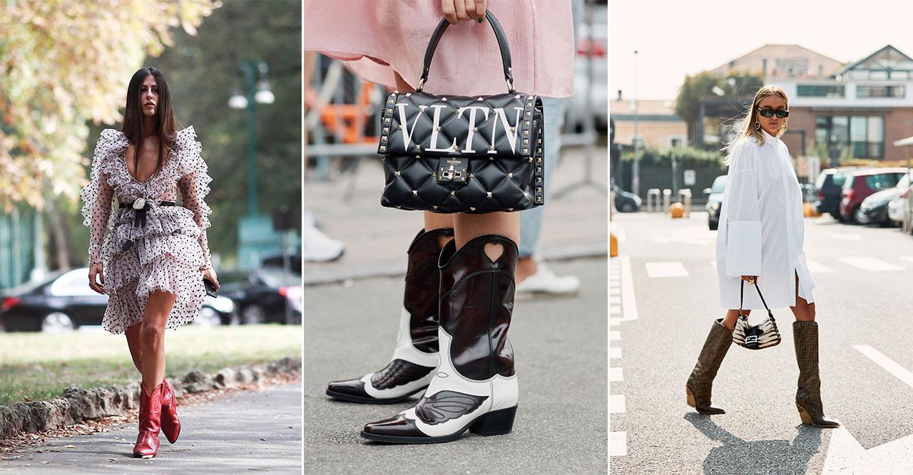 Satsa på trendiga cowboyboots – stylingtips och shopping   ELLE