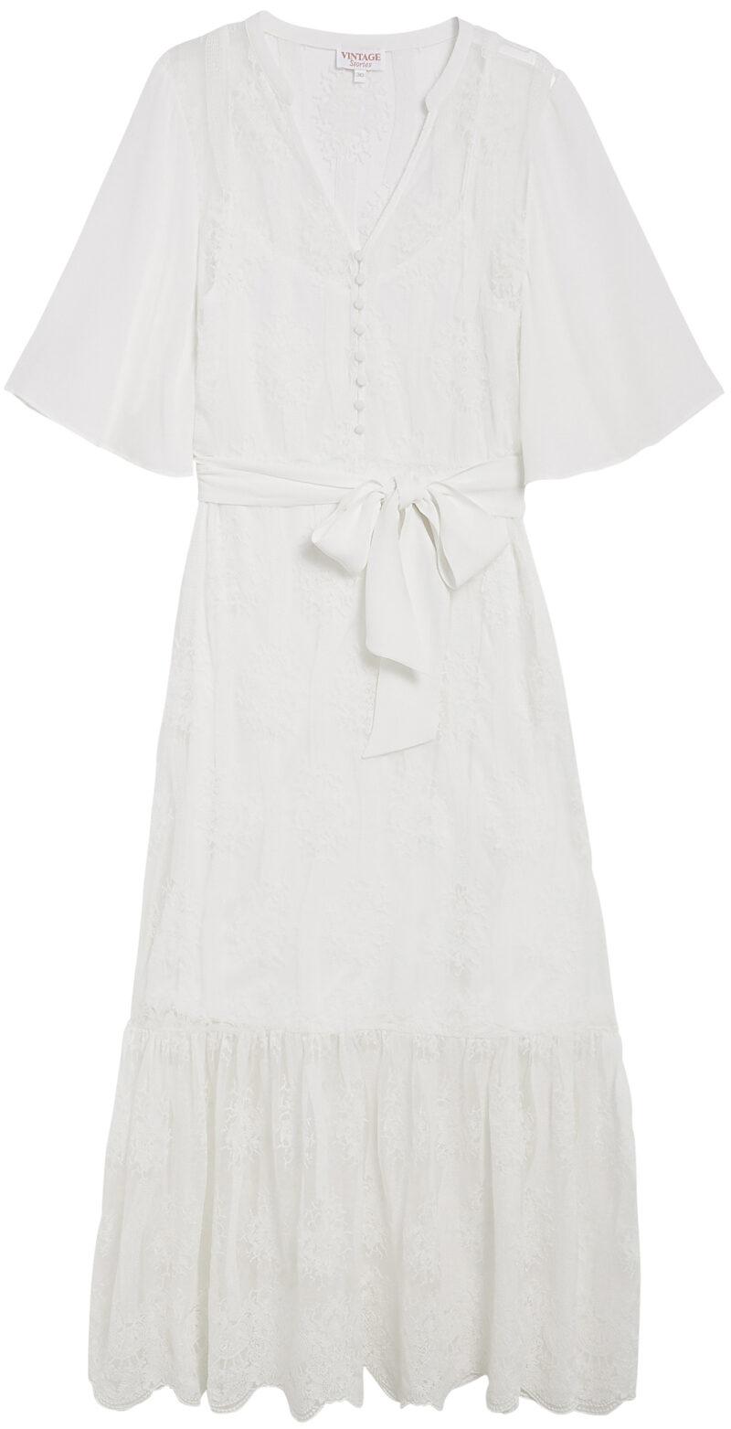 d6e9c0ad5429 ELLE listar: De snyggaste och trendigaste vita klänningarna 2019 | ELLE