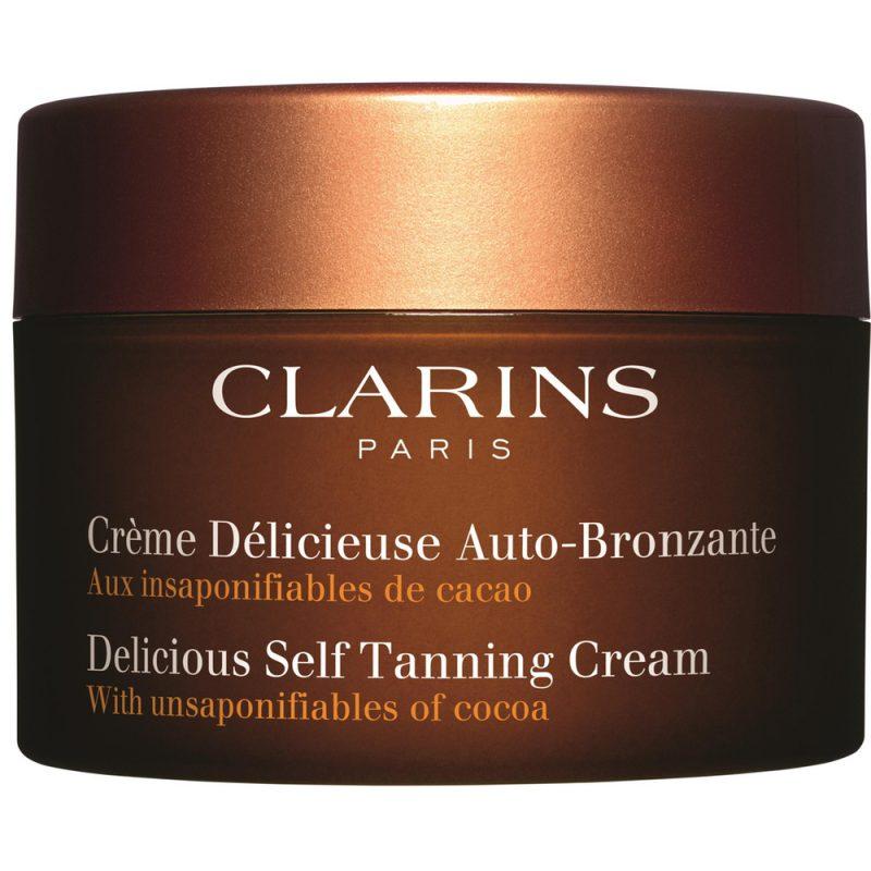 Clarins self tanning cream