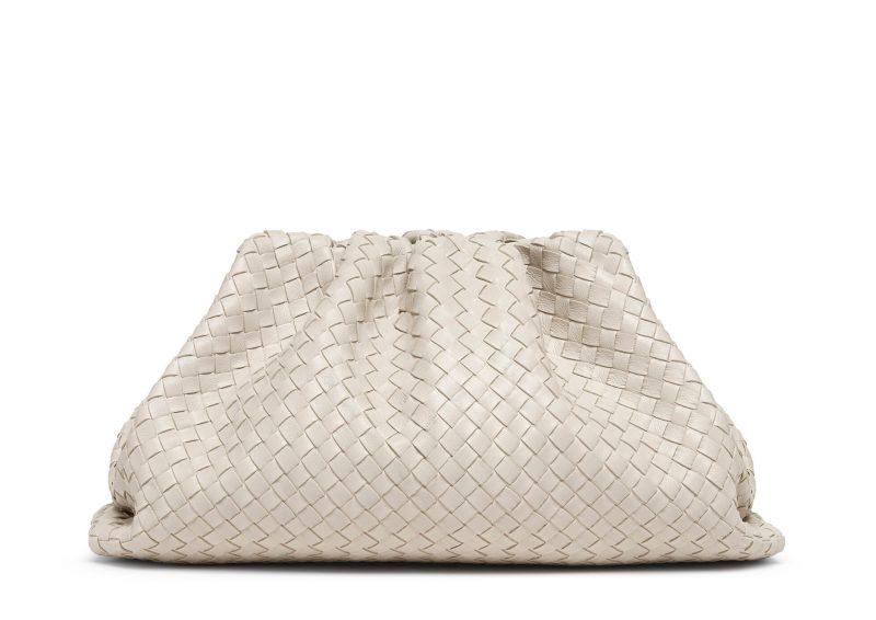 Beige väska från Bottega Veneta