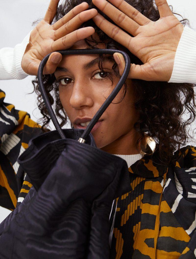 Så stylar du det trendiga djurmönstret, mönstrad topp från H&M