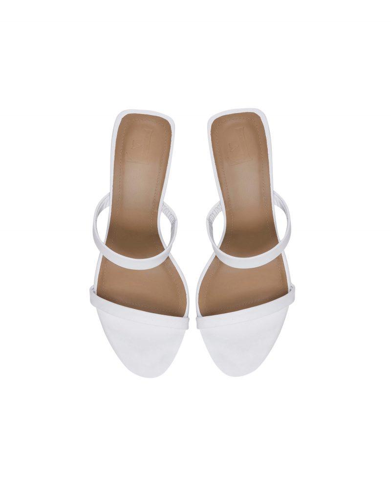 Vita sandaler från Flattered