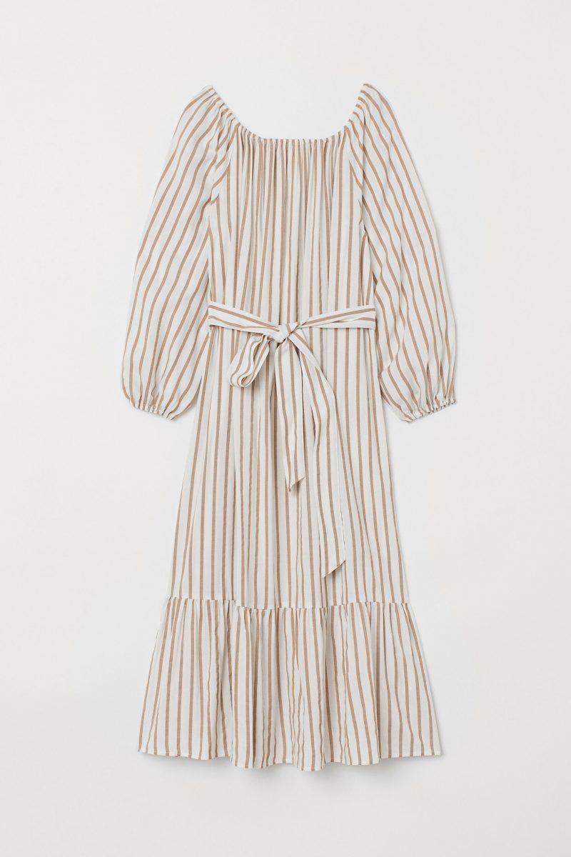 Randig klänning från H&M