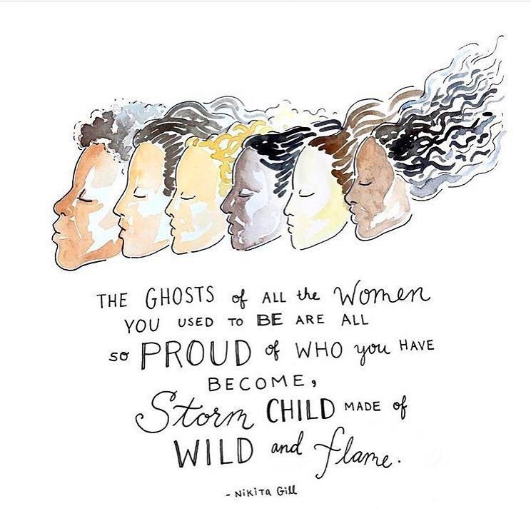 Nikita Gill, poet på Instagram