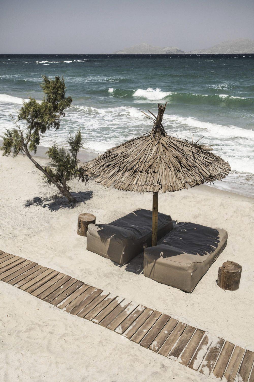 Strand på Kos i Grekland