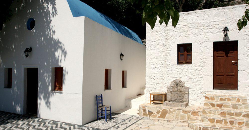 Hus på Kos i Grekland