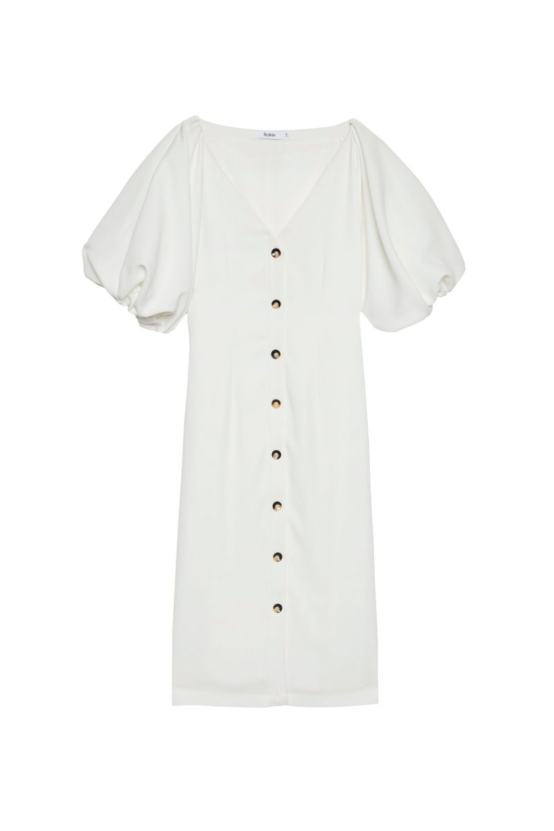 Vit klänning från Stylein