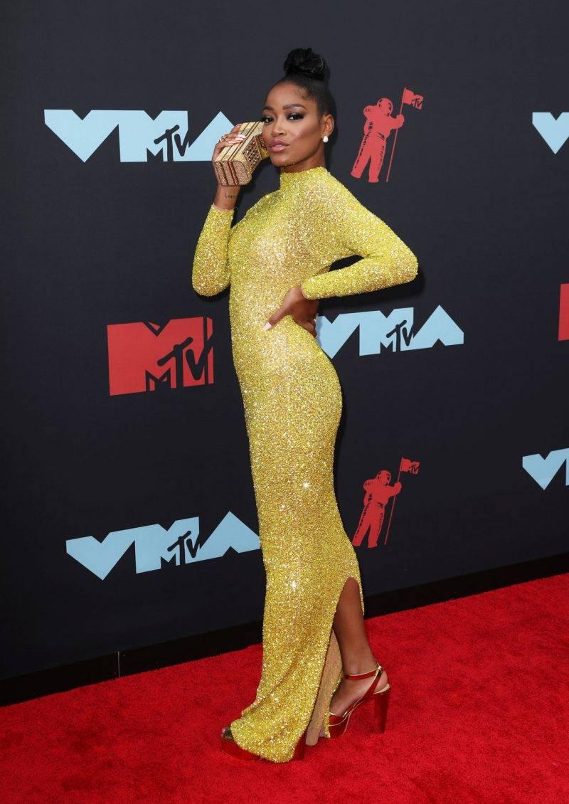 Keke Palmer på röda mattan på VMA 2019