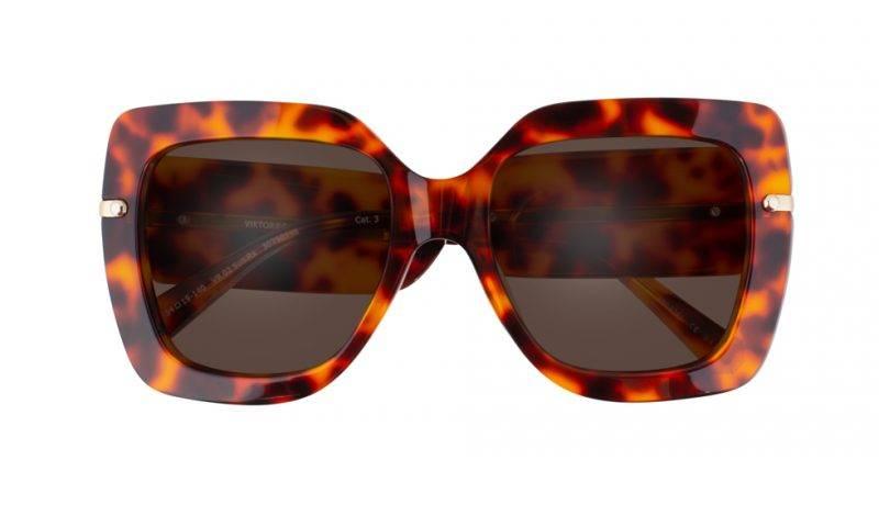 Bruna solglasögon från från Viktor&Rolf x Specsavers