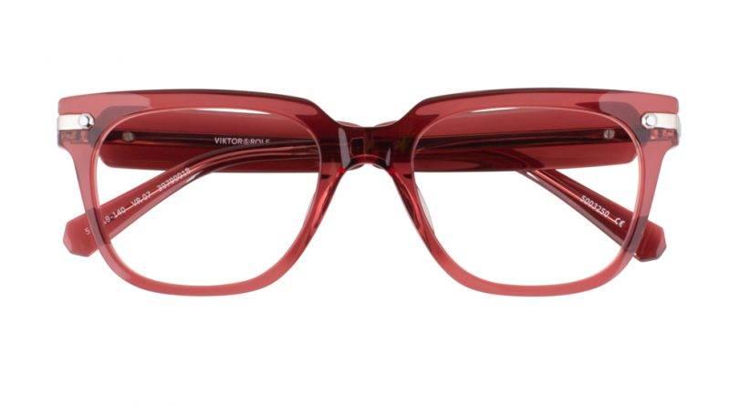 Röda bågar solglasögon från från Viktor&Rolf x Specsavers