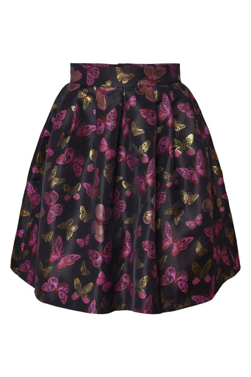 Maria Westerlind x MQ kjol med fjärilar