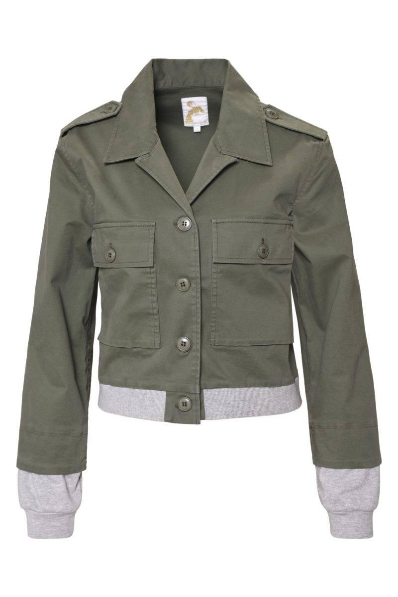 Maria Westerlind x MQ grön jacka