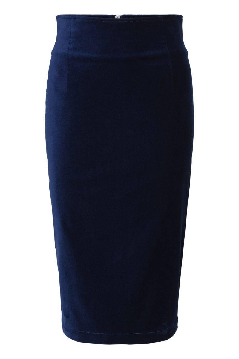 Maria Westerlind x MQ blå kjol