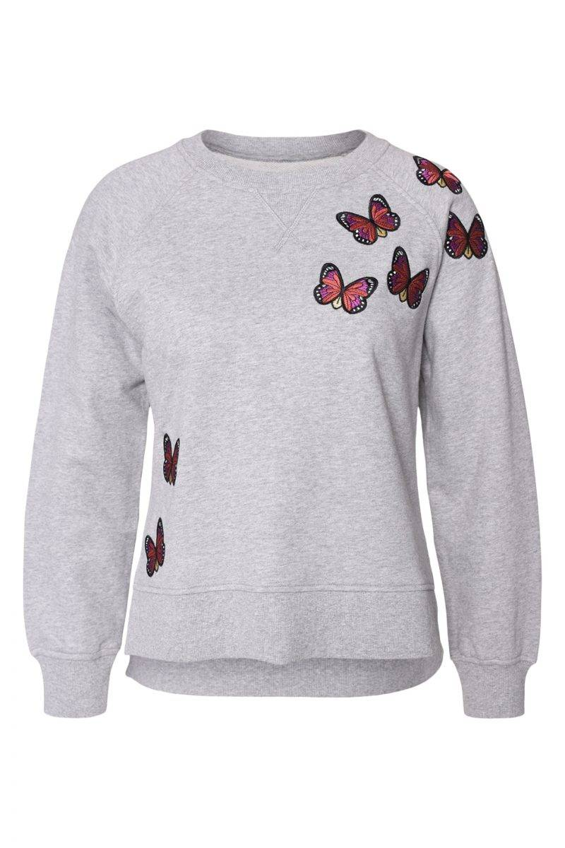 Maria Westerlind x MQ tröja med fjärilar
