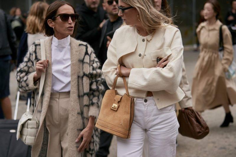 Milano Fashion Week Streetstyle SS20. Matchande looks.