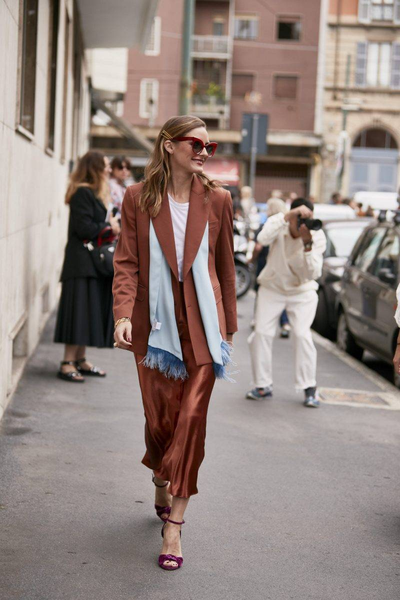 Milano Fashion Week Streetstyle SS20. Olivia Palermo.